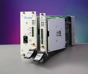 Chroma: CH-52912: PXI Power Supply - DC - Programmable - Hybrid Compatible - 2 Channels - (0~48VDC/2