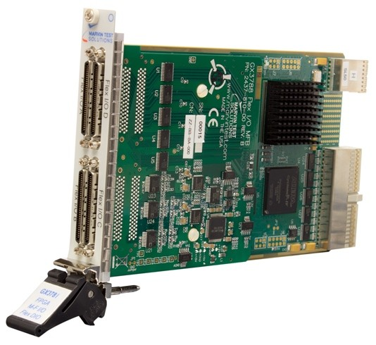 Marvin Test Solutions: MV-GX3788: High-Performance FPGA Multi-Function PXI Card