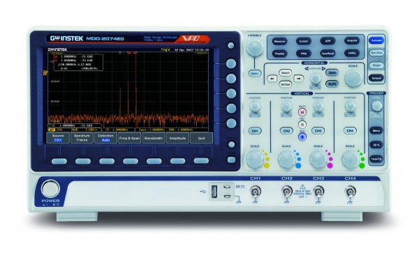 GW-MDO-2204EG Mixed Domain Oscilloscope