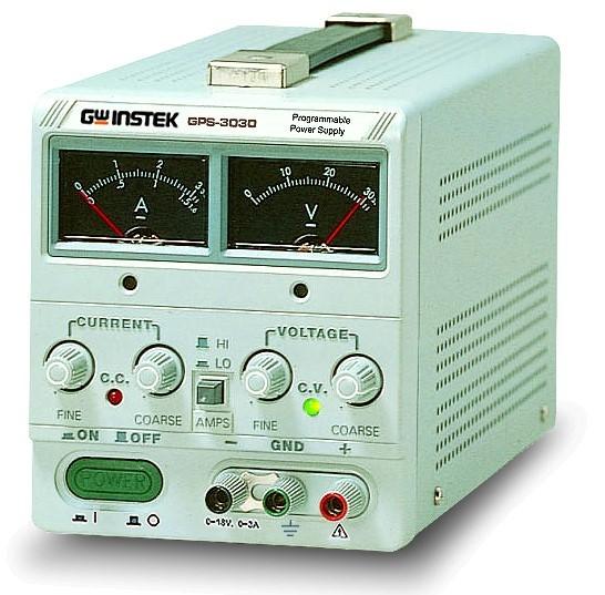 Linear DC Power Supply | 90 W, 30 V, 3 A