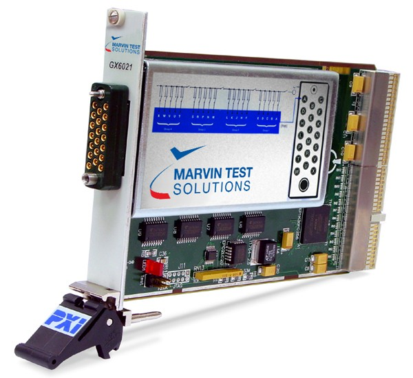 Marvin Test Solutions: MV-GX6021: 20 Channel RF Multiplexer/Scanner PXI Card