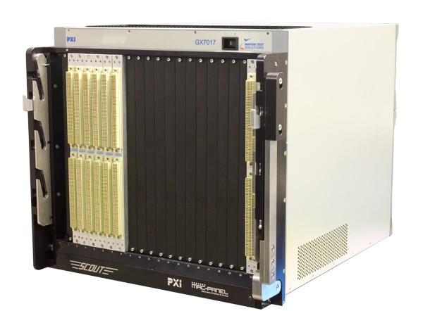 Marvin Test Solutions: MV-GX7017: GENASYS Switching-/Digital-Subsystem mit 6HE-SCOUT-Receiver