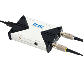 Acute AE-TS2212B TravelScope: USB Digital-Oszilloskop - 200 MHz - 2 Kanäle - 1 GS/s - USB - 128 k/Ka