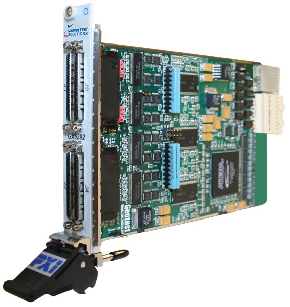 Marvin Test Solutions: MV-GX5292e: PXIe Dynamic Digital I/O (3U), 32 ch., per Pin Control, up to 100