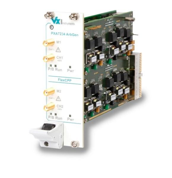 VX Instruments VX-PXA7234: PXI Arbitrary Function Generator - 150 MSa/s - 16Bit - 2 Channel - floati