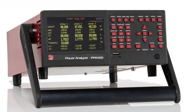 High Performance Compact Power Analyzer | 2 Phases, 20 A
