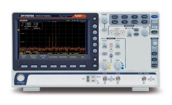 GW-MDO-2102EG Mixed Domain Oscilloscope