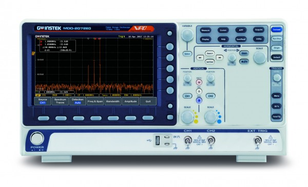 Mixed-Domain Oszilloskop | 200 MHz, 2 Kanal