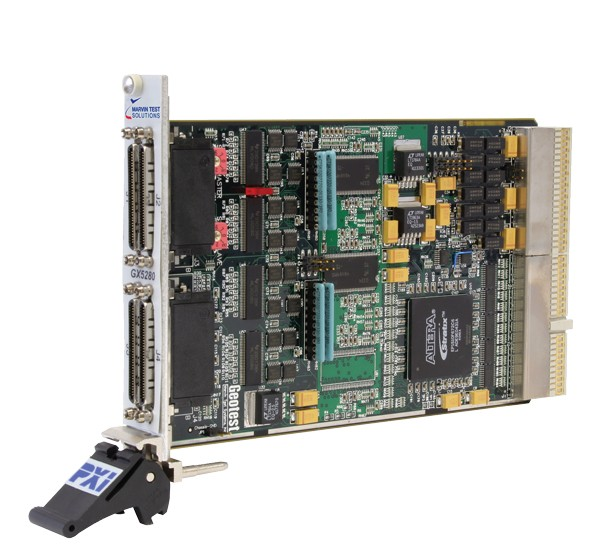 Marvin Test Solutions: MV-GX5282: Dynamic Digital I/O PXI Card (3U), 32 Channels up to 100 MHz, 256M