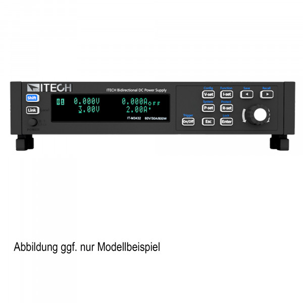 Bidirectional programmable DC Power Supply| 400 W, 30 A, 60 V