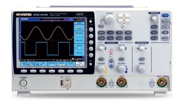 Digital-Oszilloskop - 500 MHz - 2 Kanäle - 4 GS/sec - 25 k Speicher