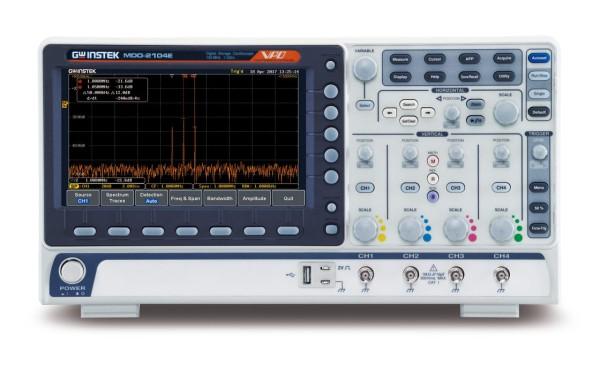 GW-MDO-2104EG Mixed Domain Oscilloscope