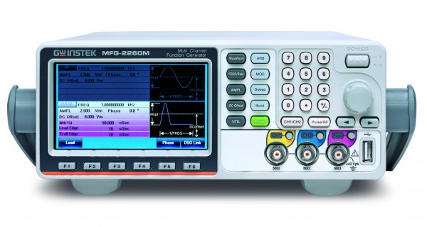 Arbitrary Function Generator | 60 MHz, 2+1 Channel
