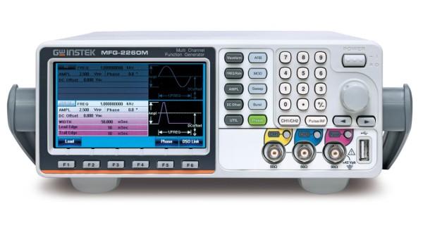 GW Instek GW-MFG-2260M: Multi-Kanal-Funktionsgenerator – 3 simultane Kanäle - 2 äquivalente Ar