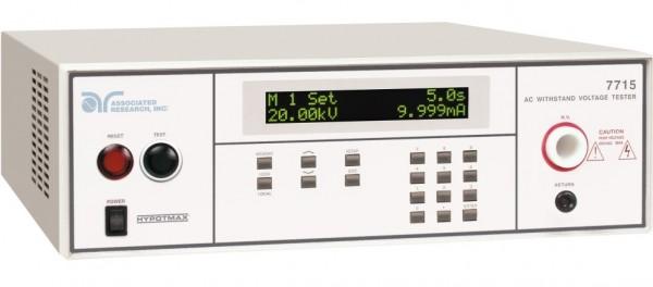 Associated Research AR-7715 HypotMAX, Hipot Safety Tester, 20kVAC Hipot