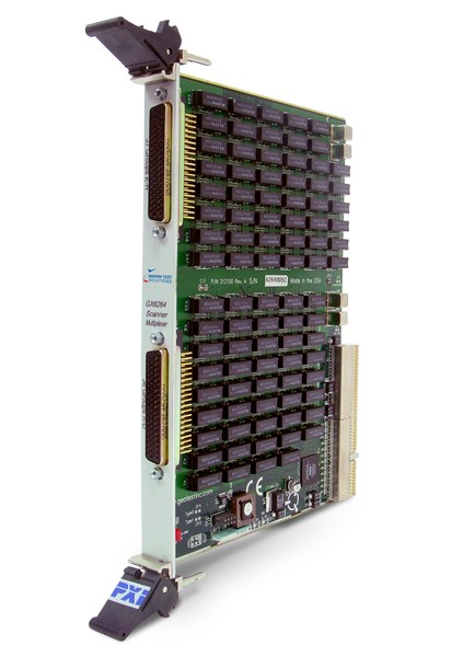 Marvin Test Solutions: MV-GX6264-C: 128 Channel Scanner/Multiplexer PXI Card, Commercial Grade