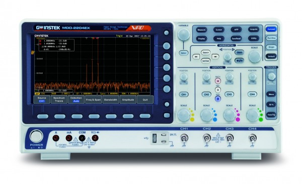 GW-MDO-2074EX Mixed Domain Oscilloscope