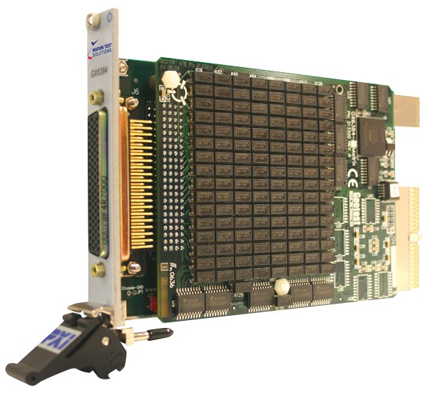 Marvin Test Solutions: MV-GX6384-3: Configurable High-Density Switch Matrix PXI Card, Dual 32 x 6 or