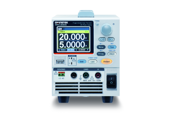 Programmable High-Precision DC Power Supply | 20 V, 5 A, 100 W